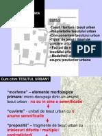 Curs AMTU II 5 Tesutul Urban