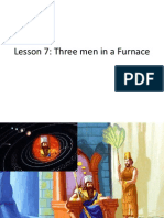 Three men in a furnance