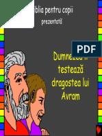 God Tests Abrahams Love Romanian