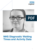 November 2014 (Latest) Figures on NHS Investigative Waiting Times