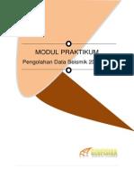 Modul Praktikum Pengolahan Data Seismik 2D Darat
