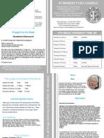 St Benedict's Newsletter 79