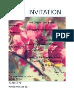 Invitation 2 Tembi