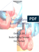 10.20.04 - Bowel Obstruction