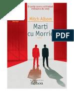 Mitch Albom-Marti Cu Morrie