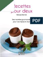 Petit Livre de-Recettes Pour Deux - HeloiseMartel