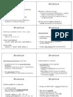 C Strukture Liste