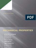 Mechanical Properties - Ppt