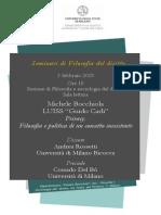 2015-02-03 Michele Bocchiola, Privacy.  Filosofia e politica di un concetto inesistente