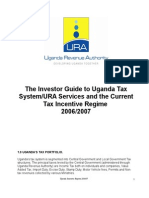 Uganda Revenue Authority Incentive Regime 2006-07