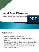 Acid Base Discorders MIU BCPS 2015