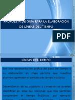 PROPUESTA DE GUÍA PARA LA ELABORACIÓNDE LÍNEAS DEL TIEMPO