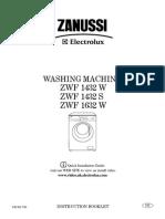 Zanussi ZWF1432W En