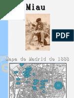 Mapa de Madrid de 1888
