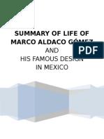 Architect Marco Aldaco Gomez
