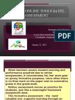 Using Blogs for EFL Assessment