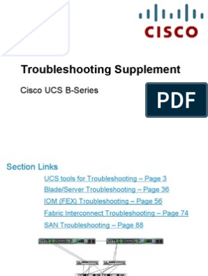 Uc on Ucs b Series Troubleshooting Guide | Network
