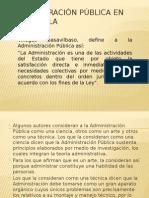 Administración Pública en Guatemala