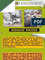 Residuos Sólidos. Uss. 2012 -II