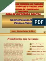GEOMETRIA DESCRITIVA PASSO A PASSO.ppt