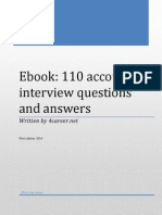 eBook 110 Accounting Interview Questions Answers
