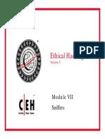 CEH v5 Module 07 Sniffers.pdf