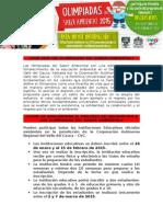 Olimpiadas - Informacion General