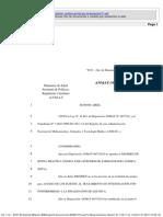 Proyecto ANMAT 2012 v1.0 Regimen de Acceso Posinvestigacion