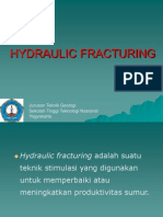 8. Hydraulic Fracturing