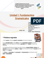 Fundamentos Gramaticales