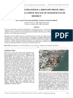 Impact of Flood Disaster in a Drought Prone Area – Case Study of Alampur Village of Mahabub Nagar District