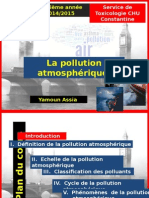Pollution atmosphérique Yamoun Assia