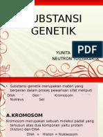 substsnsi genetika Biologi kelas XI