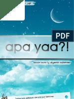 Apa Yaa by Dzyemtri[Under Construction]