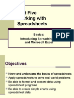 Lecture 6 Spreadsheets