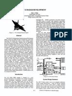 F22 Radar Development