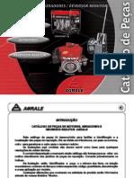 Agrale - Catálogo de Peças Motores, Geradores e Reversor.pdf