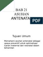 Bab 21- Asuhan Antenatal