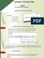 Parametros Del Receptor Comunicacion Analogica