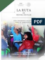 (437055843) La Ruta de Mejora Escolar Secundaria Enero 2015 (1)