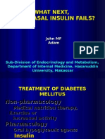 When Basal Insulin Fails -John Adam