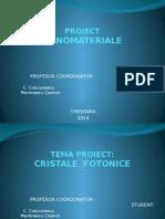 Cristale Fotonice (Prezentare)