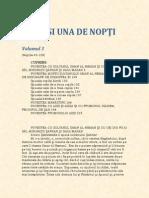 1001 de nopti (volumul 3)