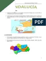 ANDALUCIA geografía 5 Curso