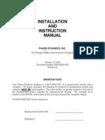 Manual Full Range Analyzer Standard