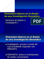 Elementos Investigacion  Biomedica