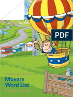 199238 Young Learners Movers Word List Picture Book
