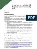 Nuclear Power Subsidies 2013