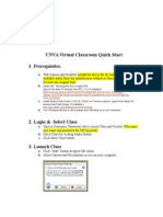 UNVA Virtual Classroom QuickStart (2)[1]