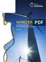 RAE report on Wind Farms 2014